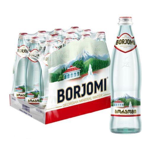 Вода Боржоми 0.5л стекло
