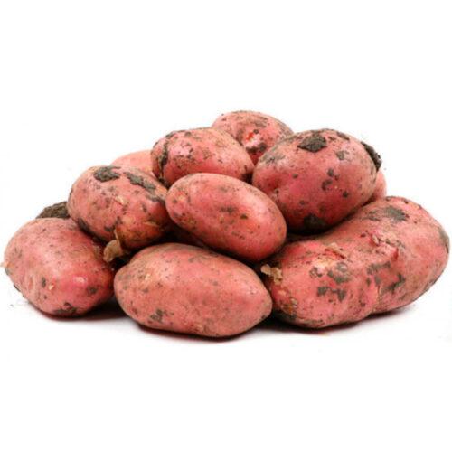 Картофель красный