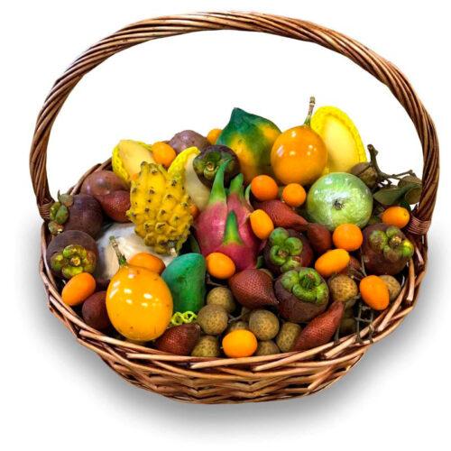 Корзина экзотических фруктов Большая