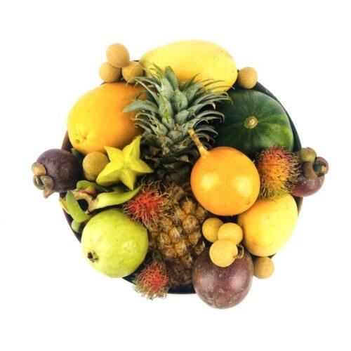 Коробка с экзотическими фруктами Большая