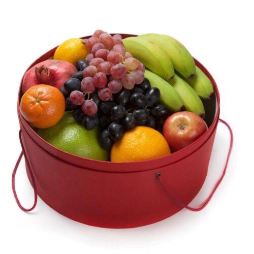 Подарочная коробка с фруктами