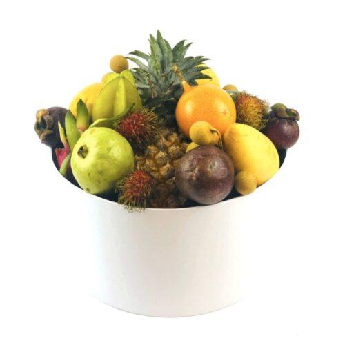 Подарочная коробка с экзотическими фруктами Большая