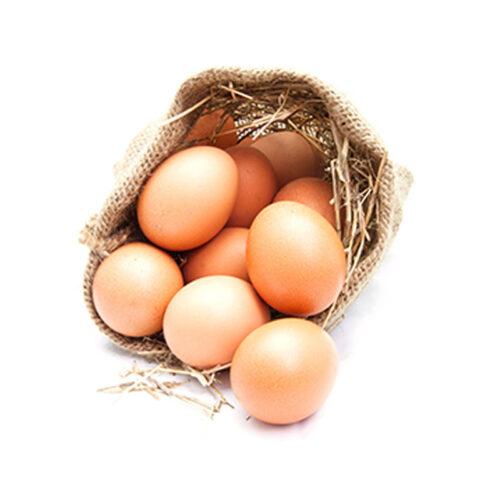 Яйцо куриное фермерское коричневое