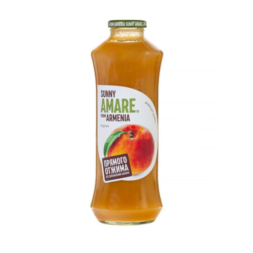 Сок Sunny Amare персиковый