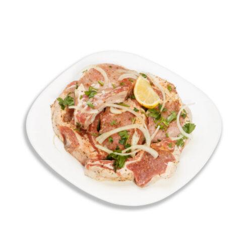 Шашлык из корейки свинины