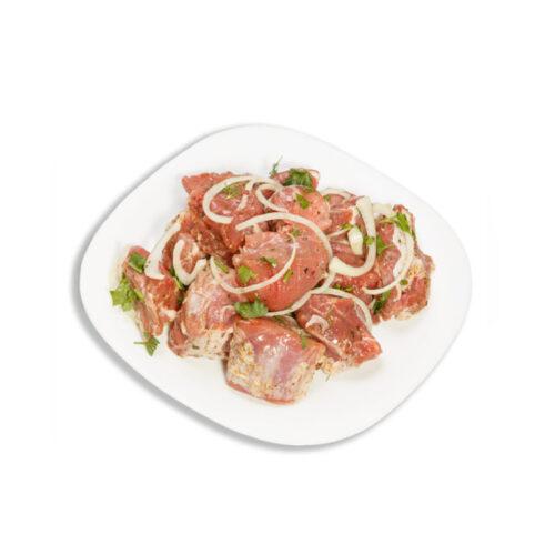 Шашлык из свиной шейки