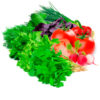 Большой набор салатный