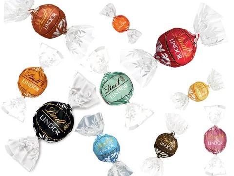Конфеты шоколадные Lindor ассорти 1 кг