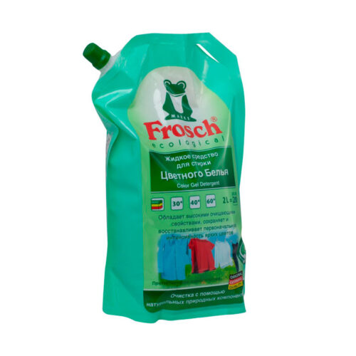 Жидкое средство для стирки цветного белья Frosch 2л