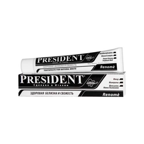 Зубная паста President Renome 75мл